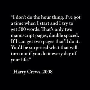 harry crews