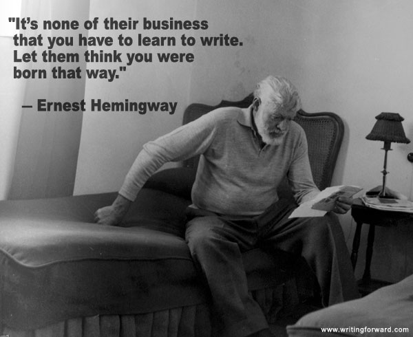 ernest-hemingway-learn-to-write
